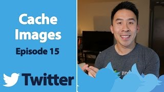 Swift 3: Twitter - Easy Caching and Loading Images using CachedImageView (Ep 15)