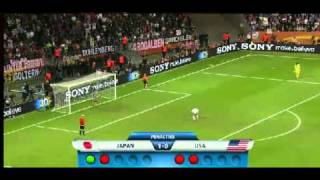 japan vs usa women world cup finals ( penalty shoot highlight all goals )
