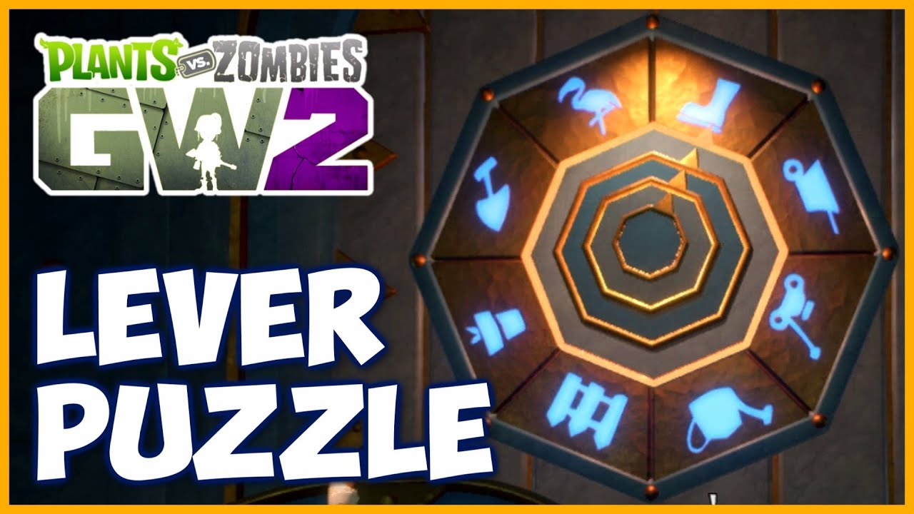 Gnome Vault Lever Puzzle Solution Gnomish Perspective Hat Plants Vs Zombies Garden Warfare