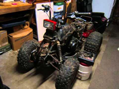 1986 honda fourtrax 200sx body carb rebuild wmv youtube rh youtube com