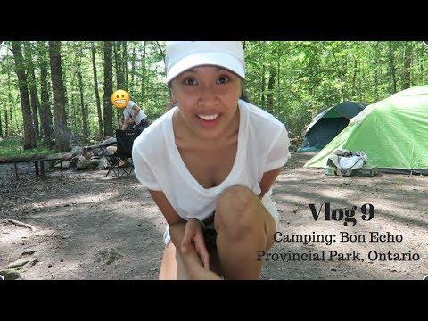 Camping: Bon Echo Provincial Park, Ontario - LA VLOG 9