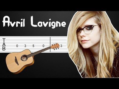 complicated---avril-lavigne-guitar-tabs,-guitar-tutorial,-guitar-lesson