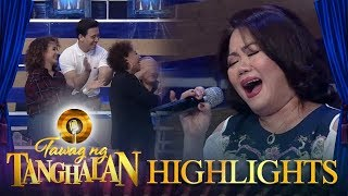 Tawag ng Tanghalan: Hurados give Dulce a standing ovation!