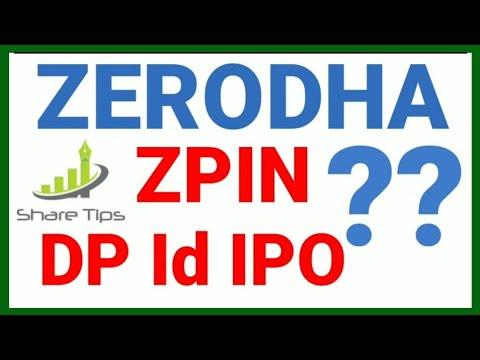 Zerodha ZPIN zerodha IPO DP ID