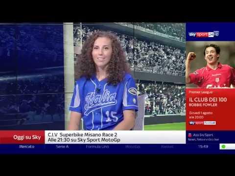 Elisa Cecchetti ospite a SkySport24