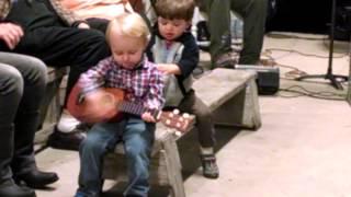 JTH3 - Playing guitar at the Indian Pass Raw Bar  11-22-13