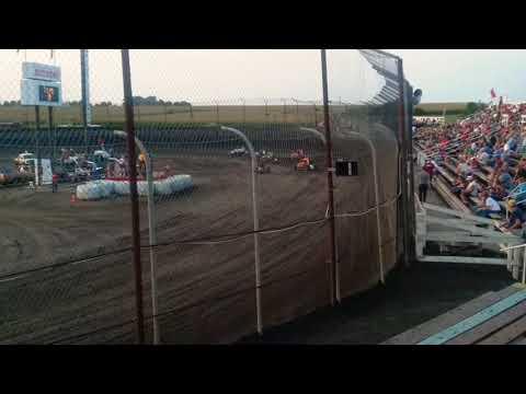 POWRi Midgets Heat 2  Macon Speedway