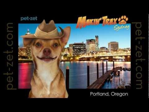 Makin' Trax with Sydney to Portland, Oregon!