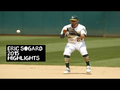 Eric Sogard | 2015 Athletics Highlights HD