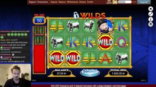 Monopoly big Event - Biggest comeback win ever on live stream!