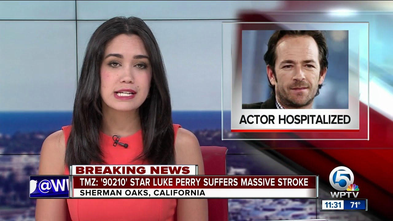 Luke Perry Hospitalized After Reportedly Suffering A Stroke