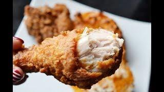 I made fried chicken from KFC 炸鸡竟然可以这么焦香好吃?!