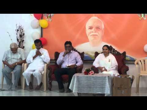 Divya Nagari-DCP Bro. Bipin Shankar Rao Ahir addressing Divya Nagari Slum Children