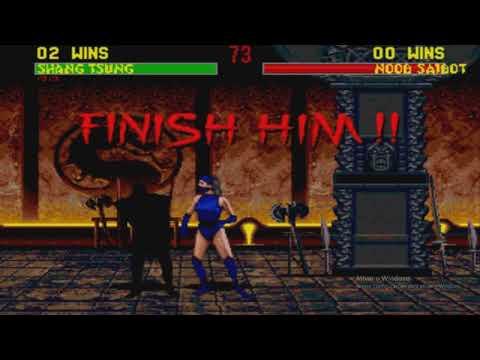 Mortal Kombat 2 (Sega Genesis) - Fatalities on Noob thumbnail