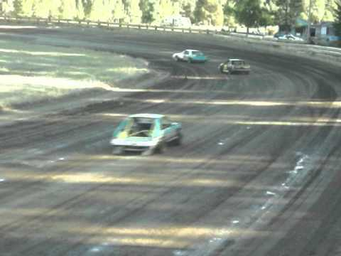 Eagle Track Raceway Fever 4 B Trophy Dash Part 1 Sept 20th 2014