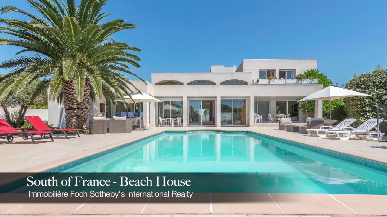 Modern Beach House In Agde South Of France