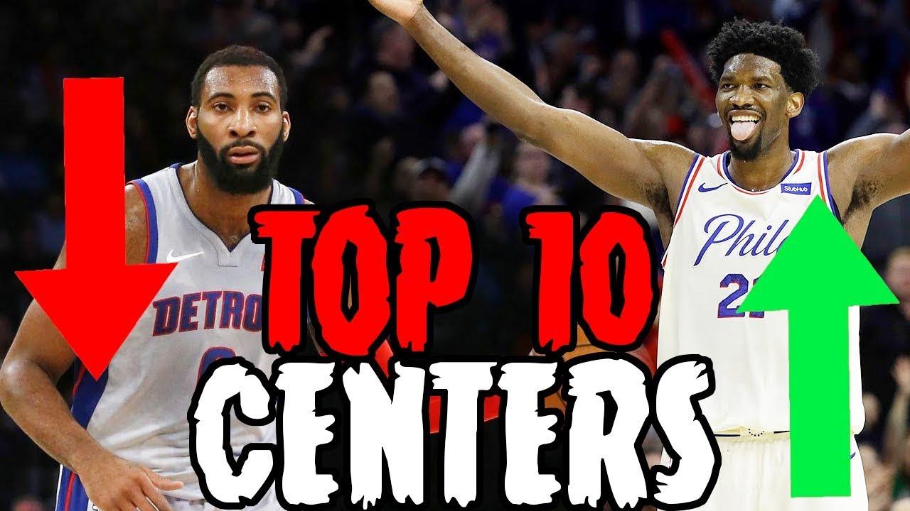 Top 10 Centers In The NBA 2018-2019 Season - YouTube