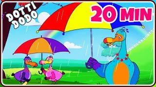 Rain, Rain, Go Away and Many More Videos | Best Of Dotti Dodo | Popular Nursery Rhymes Collection