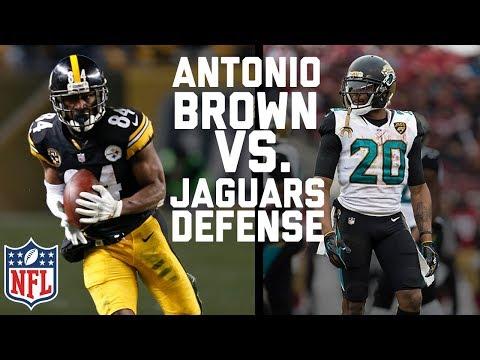 Jaguars vs. Steelers: Does Antonio Brown or Sacksonville have the Advantage? | NFL Network