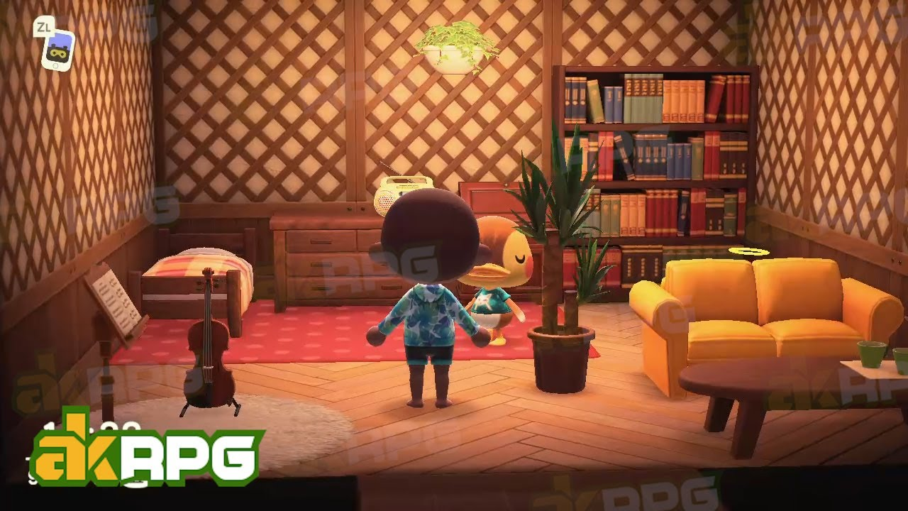 Acnh Japanese Style Living Room Bedroom Best Interior Design Idea In Animal Crossing Youtube