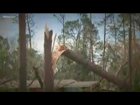 When Michael hit Seminole County, it was still a Category 3 storm