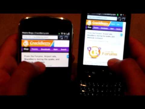Blackberry Bold 9900 vs Blackberry Torch 9800