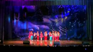 КЛЯКСА Новосибирск (Мы маленькие звёзды).flv