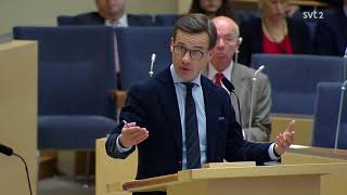 Partiledardebatt 2018 - Jimmie Åkesson vs. Ulf Kristersson - Om kärnvapen-frågan