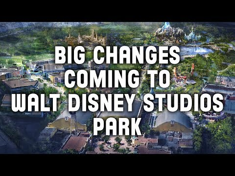 Big Changes Coming To Walt Disney Studios Park