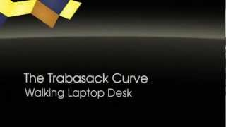 Walking Laptop Desk Bag - Trabasack Curve - Desk You Can Wear Anywhere