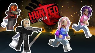 Roblox: Hunted / BEWARE THE SLASHER! / CHASSER OU ÊTRE CHASSÉ! 🔪