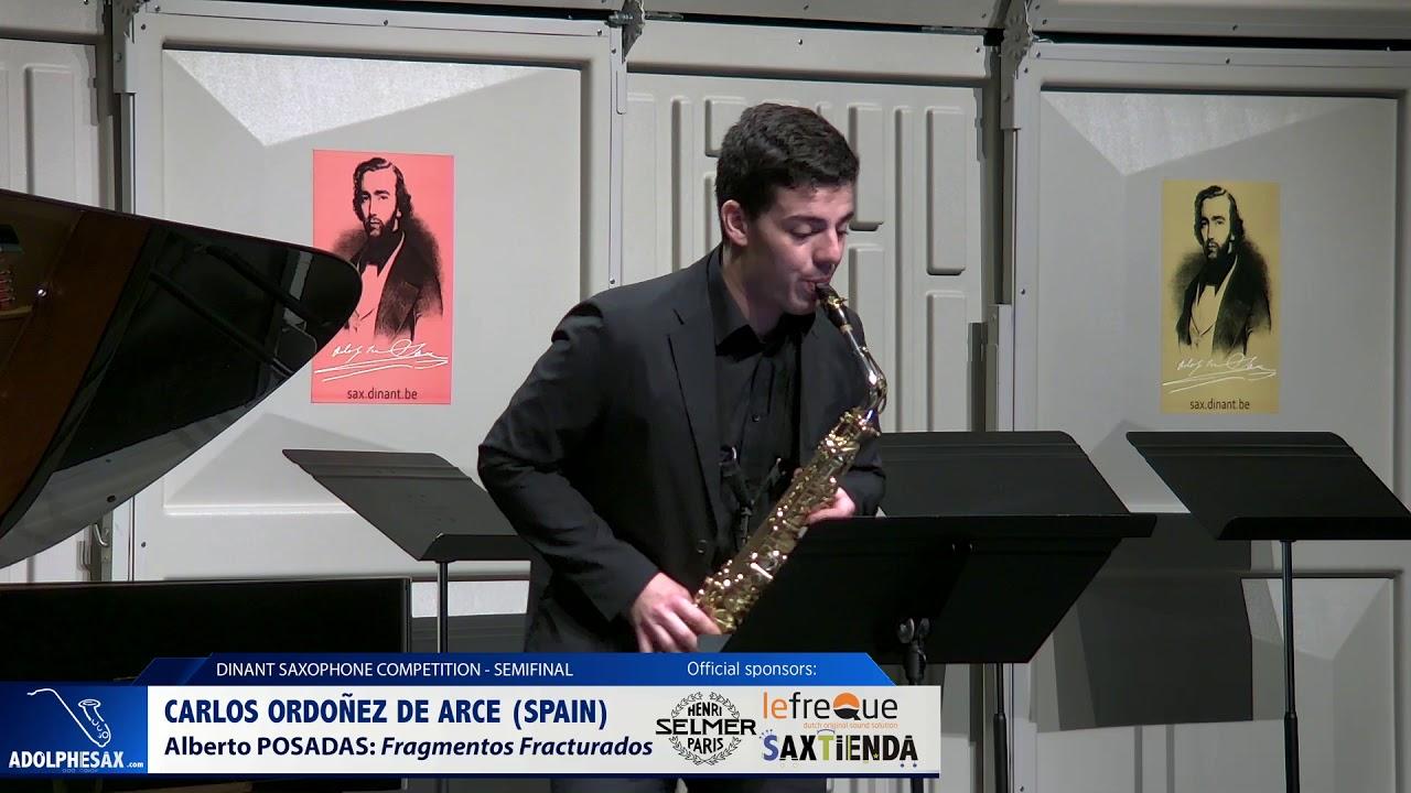 Carlos Ordoñez de Arce (Spain) - Fragmentos fragturados by Alberto Posadas (Dinant 2019)