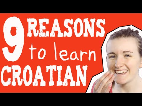 9 Reasons to Learn Croatian║Lindsay Does Languages Video
