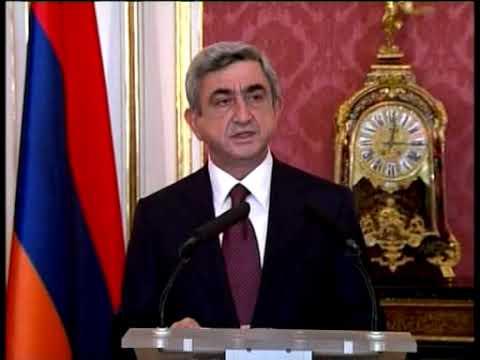 Armenian President Serzh Sargsyan's state visit to Hungary