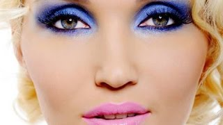 Уроки макияжа!  -    Как сделать Красивый Макияж Карих глаз в Голубых тонах!