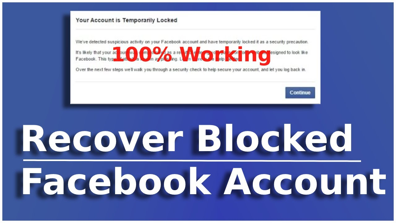 Facebook you re temporarily blocked from using this feature