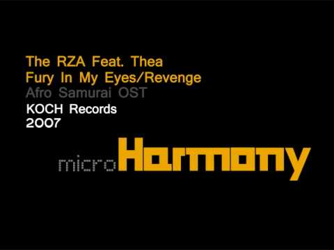 The RZA feat. Thea - Fury In My Eyes/Revenge