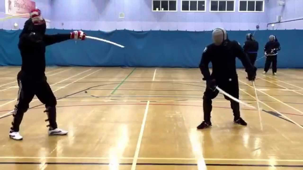 Dual Wield Sabre Sparring Youtube