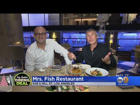 Tony's Table: Mrs. Fish Restaurant Near Pershing Square