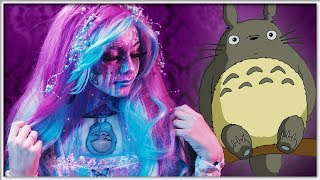 Totoro SPLASH Painting || FACEPAINTING