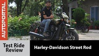 Harley-Davidson Street Rod - Test Ride Review - Autoportal
