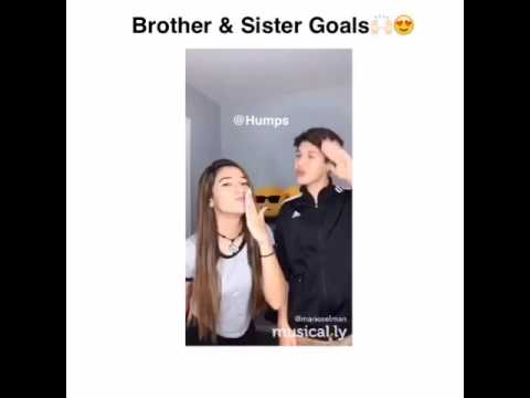 brother and sister relationship goals