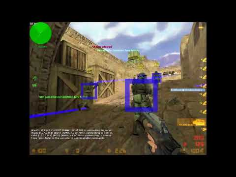 CZ-CS Counter Strike Hacking Tricks For Auto Aim And Walling || 2017||