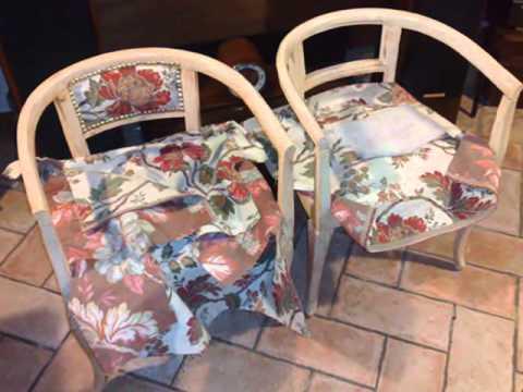 Sedia con seduta e schienale imbottito doovi - Tappezzare una sedia ...