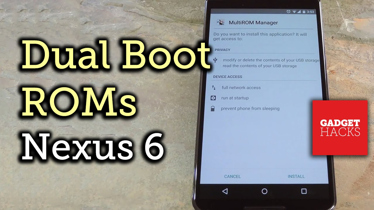 How to Dual-Boot Multiple ROMs on Your Nexus 6 « Nexus