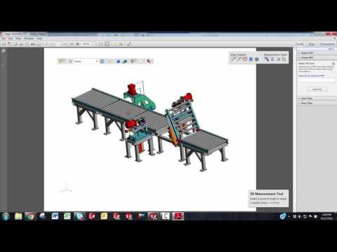 Solidworks How To Export To 3d Pdf Youtube