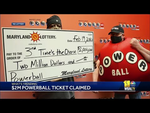 Pittsburgher finally claims $2M Powerball prize in Maryland