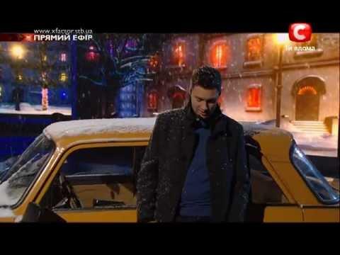 Х-Фактор 2. Олег Кензов - романс - эфир 17.12.2011