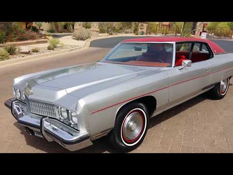 1973 chevrolet caprice (sold) youtube 1975 Impala Convertible Craigslist