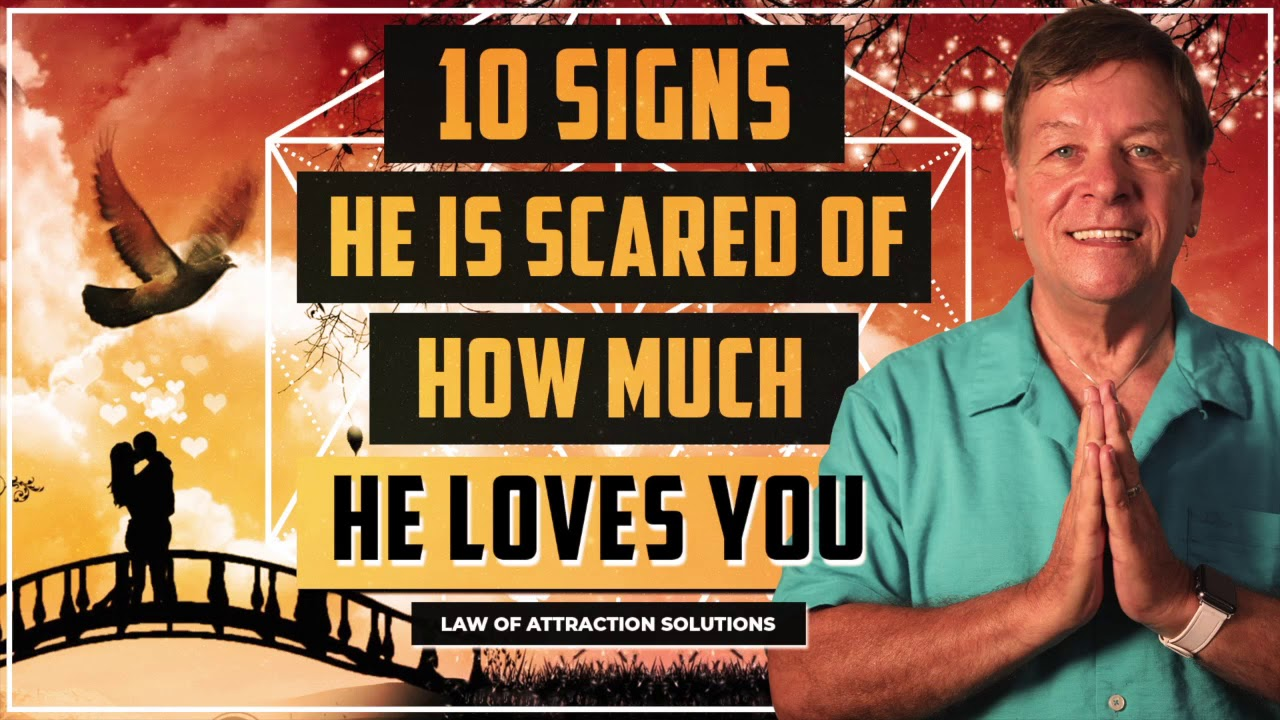 10 Signs He is Scared that He Loves You - Afraid of commitment
